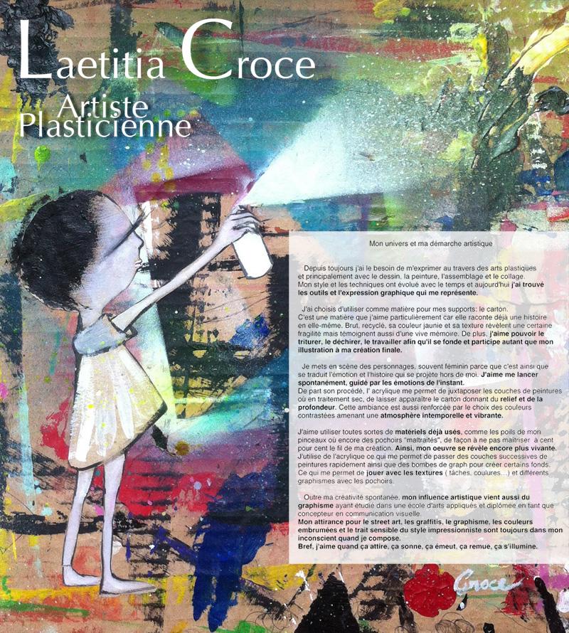 Mon univers Creatif - Laetita Croce - Artiste Plasticienne